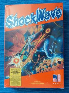 Shockwave for Nintendo NES Sealed MIB
