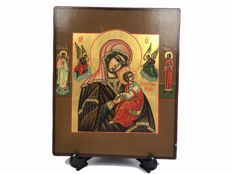 Byzantine icon of the mother of God of the passion - 20th century