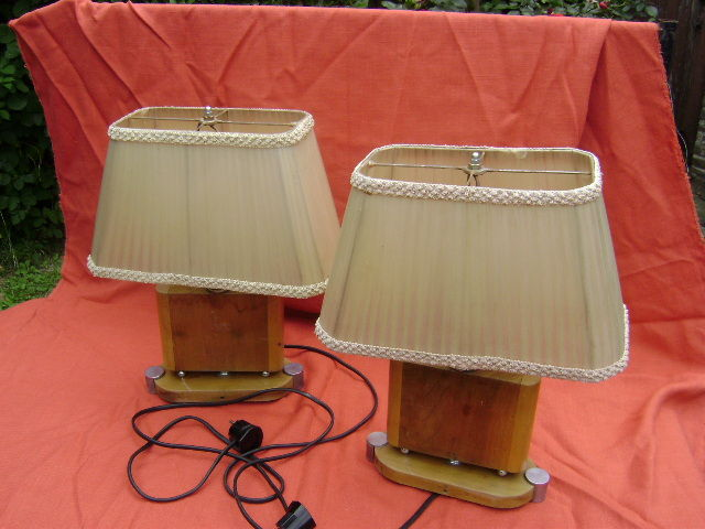 Set of Art Deco-period table lamps - Canada - S&S