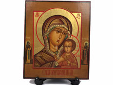 Russian icon mother of God of Kazan - Russia - 20th century