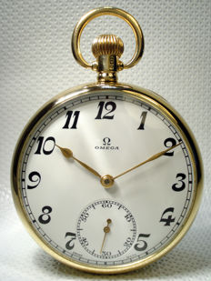 Omega Swiss pocket watch - 1932