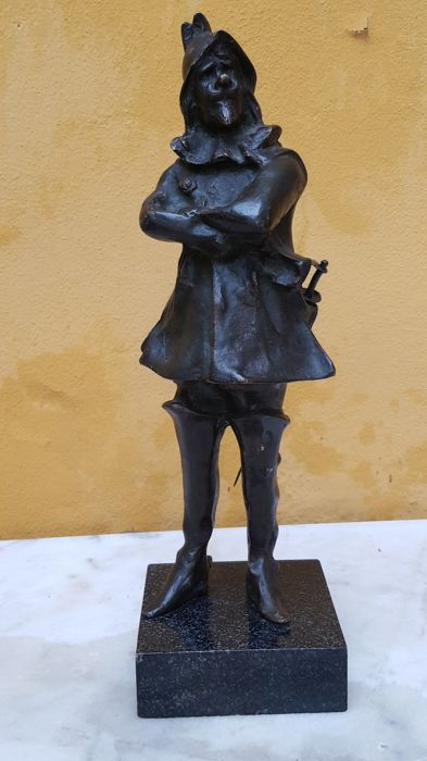 Bronze sculpture Cyrano de Bergerac - early 1900