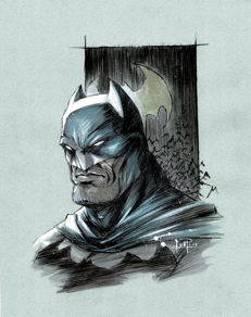 Juapi - Original Drawing - Batman