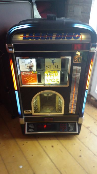 Music box, juke box, CD juke box, laser disc, one more time
