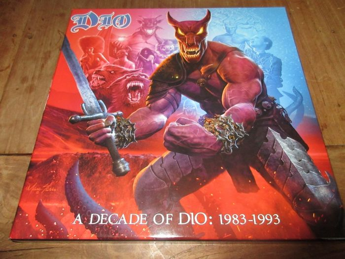 "Dio  ‎– A Decade Of Dio: 1983-1993 (6 LP box + 7"")"