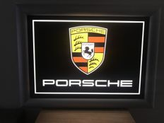 Porsche - Light box - 68 x 50 x 3 cm