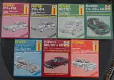 Rover: Lot van 7 Haynes workshop Manuals