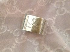Gucci - large band ring in 925 silver - size 14