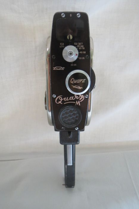 "The ""Quarz M"" movie camera. The USSR  (Export edition)(1963-1965) KMZ (Krasnogorsk)"