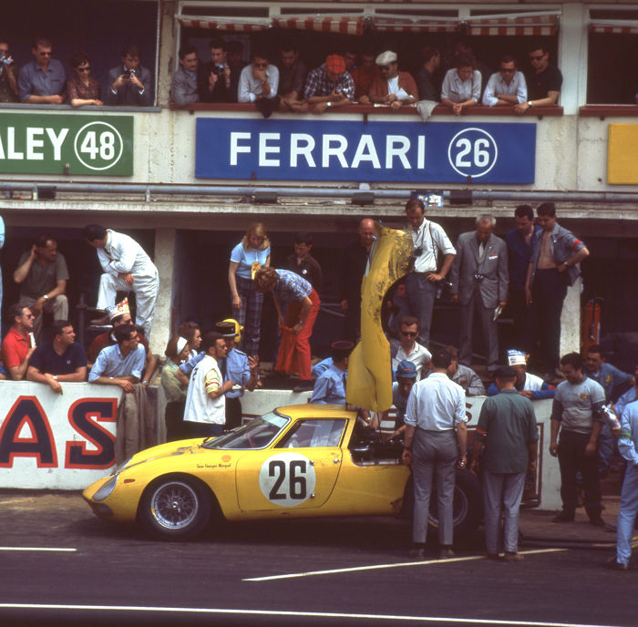 photograph - 1965 Lemans 24 hour Ferrari 250  - 2016 (1 items)