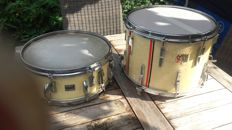 2x Remo weather king ambassador snare made in the u s a