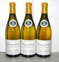2003 Chassagne-Montrachet 1° Cru Morgeot (Blanc), Louis Latour – Lot of 3 bottles