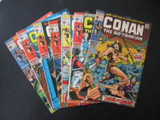 Collection Of Marvel Comics - Conan The Barbarian Vol 1 - Including Issues 1 2 3 4 5 + Many More - x77 SC - (1970/1973)
