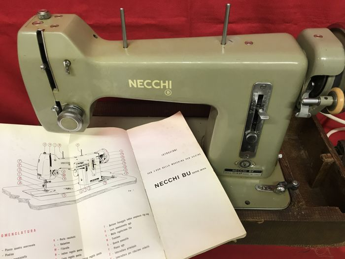 Necchi BF Mira Series 40 Wooden Transport Case And With Many Best Necchi Bf Mira Sewing Machine