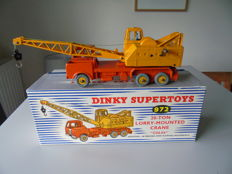 Dinky Supertoys - Scale 1/48 - 20-Ton Lorry-Mounted Crane Coles No.972