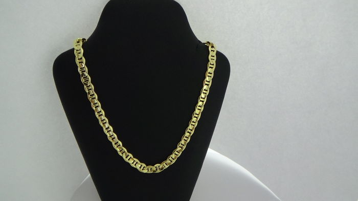 14 kt Gold necklace – Length: 60.5 cm – Weight: 14.1 g