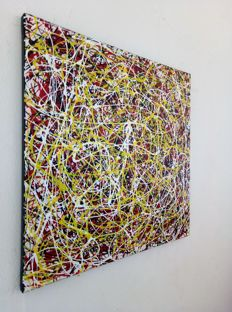 Alessandro Butera  - White black yellow and red