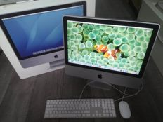 "Apple iMac 20"" - Intel C2D 2.4Ghz, 2GB RAM, 320GB HD - model nr A1224 - Complete in original box"