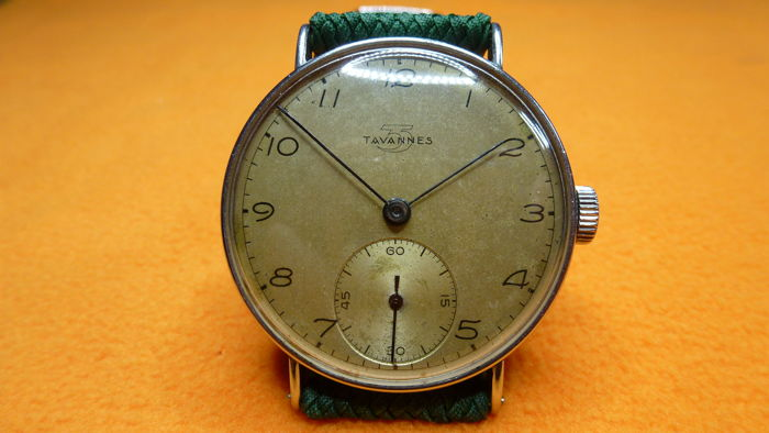Tavannes 1940 wristwatch