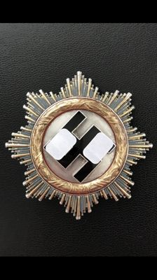 German Cross in Gold made of Bi-Metal, Manufacturer's Mark 20 (Zimmermann from Pforzheim)