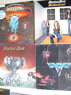 Nice Lot with 10 Hard Rock Albums