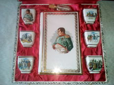 Box Napoleon in Limoges porcelain