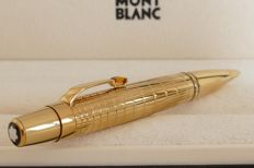 Boheme gold-plated citrine stone ballpoint pen FRANCE, price new about 1,195