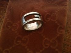Gucci - 925 silver ring, size 12