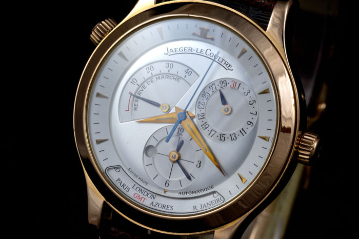 ddc63ecb7d9 Jaeger-LeCoultre Master Control Geographic 18k Rose Gold - Catawiki
