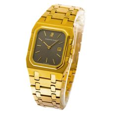 Audemars Piguet Royal Oak Ractangular gold - Unisex wristwatch