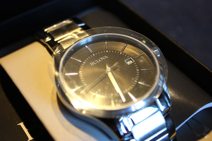 Bulova - Black Face - contemporary