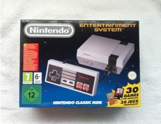 Nintendo NES Classic Mini with 30 games Pre-Installed.