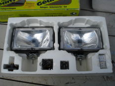 A set of Spotlights made by the brand RAYDYOT with a width of 175 mm from the 1980s and 1990s.