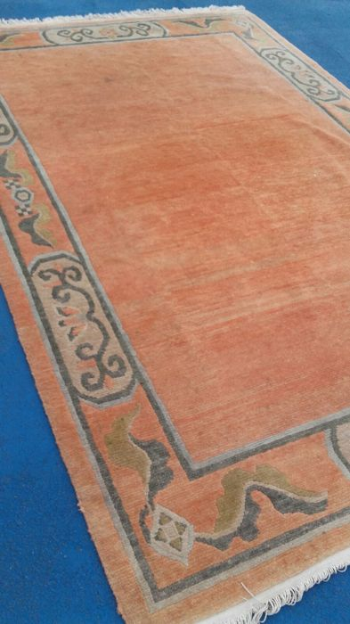 Beautiful hand-knotted Oriental rug, 303 x 201 cm