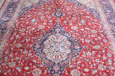 Beautiful & Original Persian Iran  Kashan Handknotted Oversized 402x300 cm around 2000