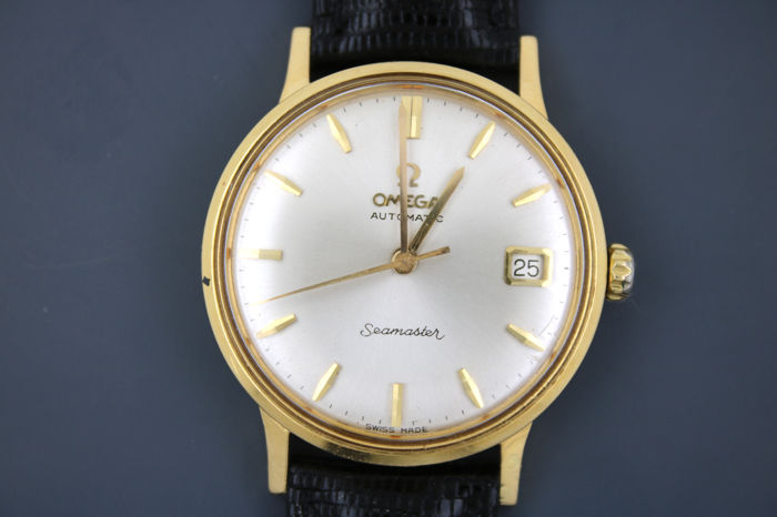 Omega Seamaster – men's watch 750 / 18 kt gold