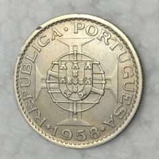 Timor – Portugal Republic – 1 Escudo 1958