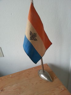 KLM flag from 1949-1950, raise up metalworks