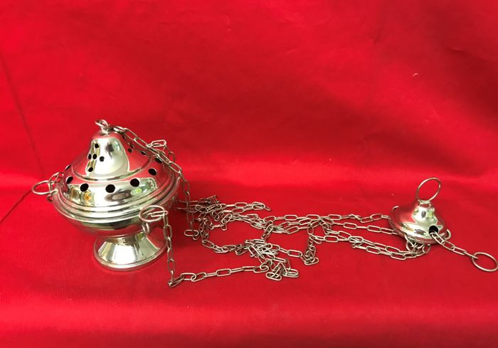 Original blessed censer used for masses - Italy - 20th century