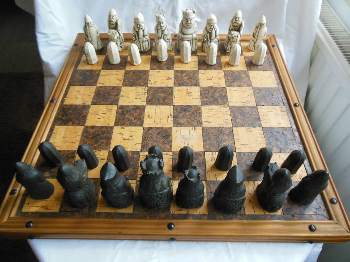 Beautiful Lewis chess game