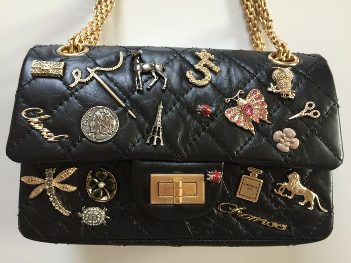 577dd4931577 Chanel - 2.55 Lucky Charms double flap bag - Rare bag, Collector's item