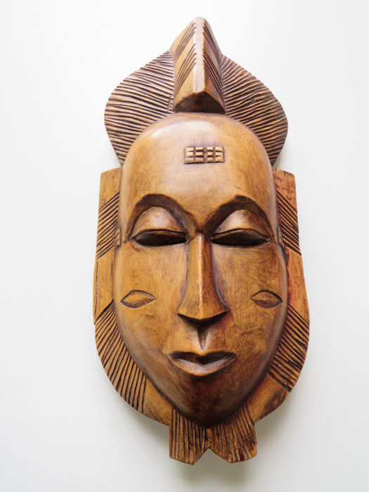 Wooden BAULE mask