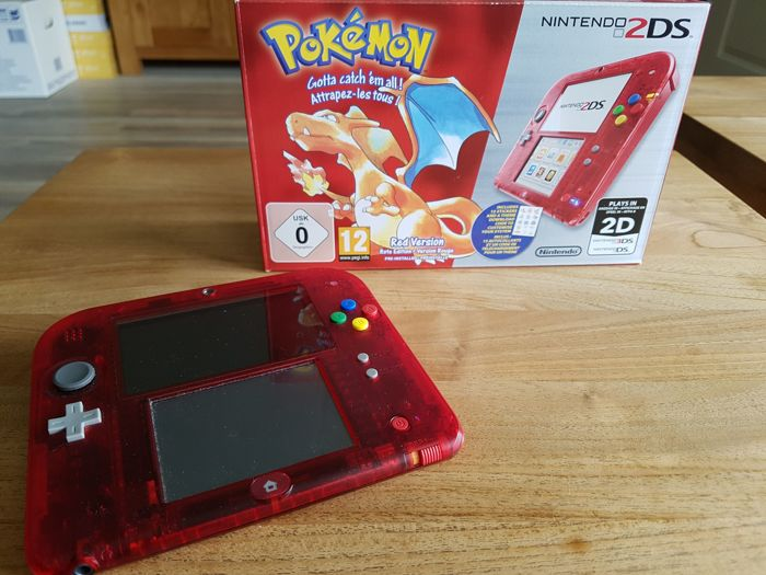 nintendo 2ds red edition 20th anniversary limited edition catawiki