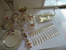 Nice number of silver plated items