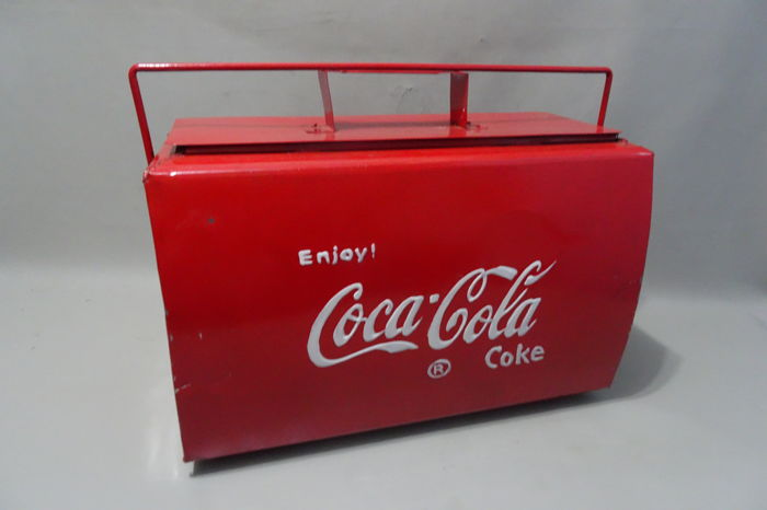 Coca Cola cool box.