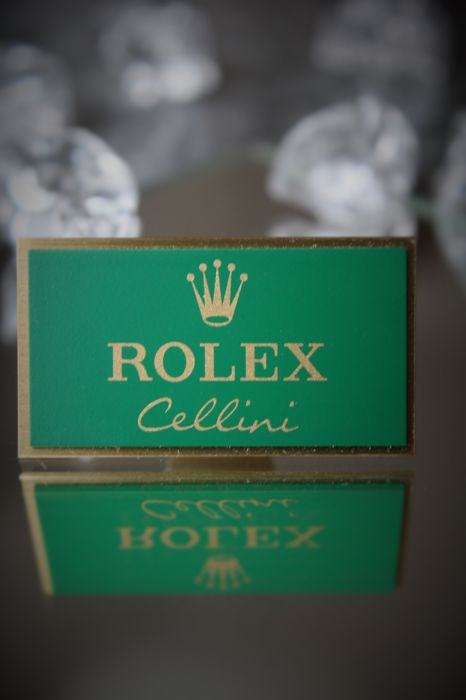 Rolex Cellini – Extremely Rare Brass Mounting / Display  No Reserve Price