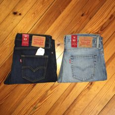 Levi's - 2 Pairs of Jeans - Brand New - Model 511