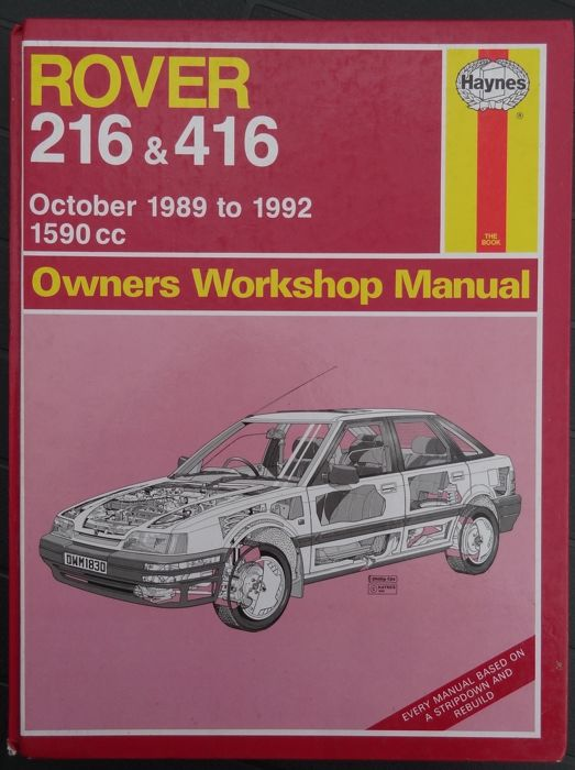 rover lot of 7 haynes workshop manuals catawiki rh auction catawiki com rover 214 si service manual rover 214 si service manual