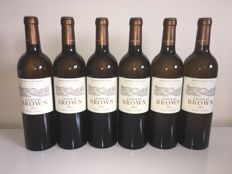 2011 Chateau Brown Blanc, Pessac-Leognan - 6 bottles (0,75ltr.)