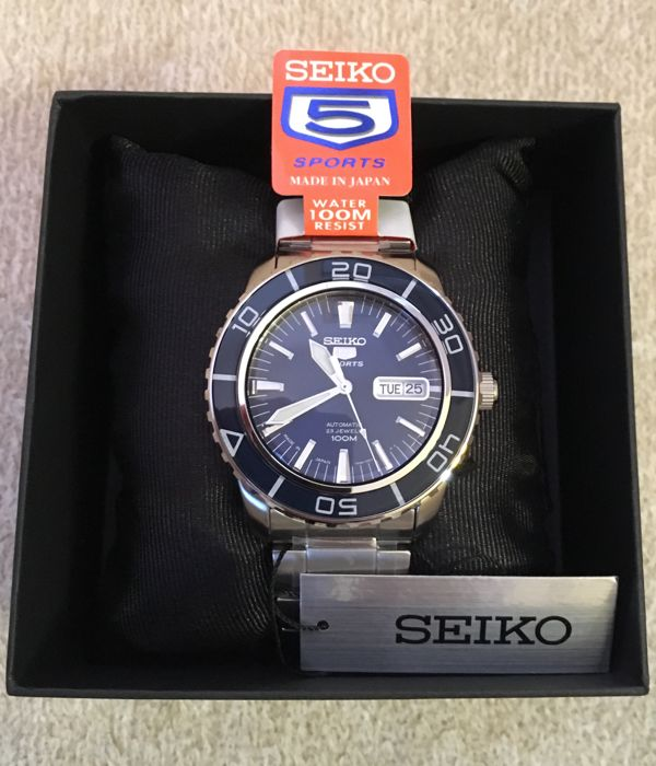 Seiko 5 Sports Automatic - wristwatch